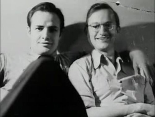 Image result for brando and wally cox